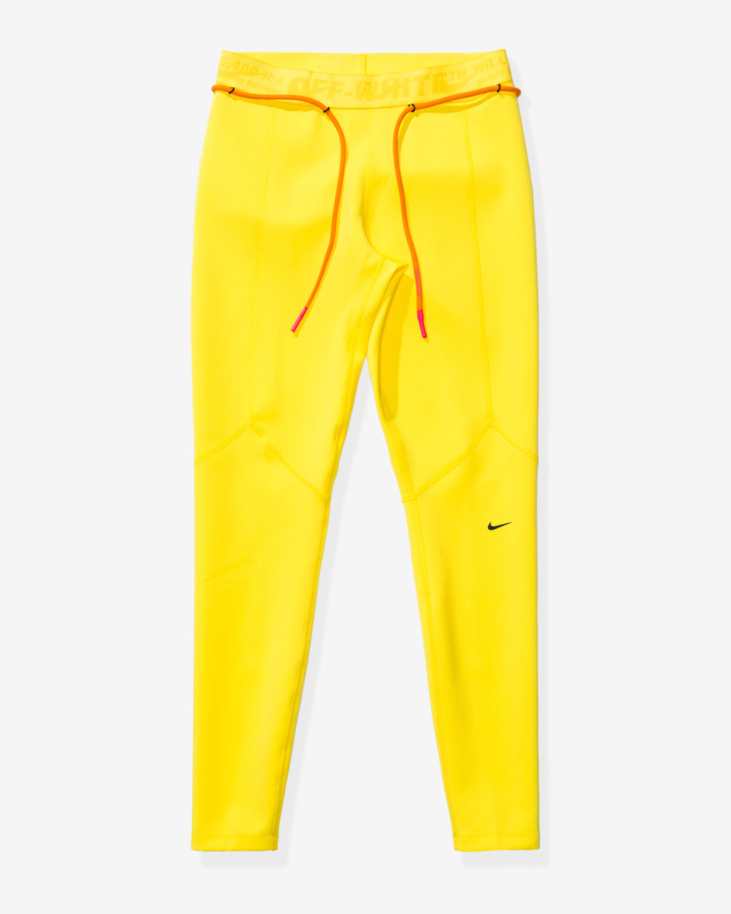 NIKE X OFF-WHITE WOMEN'S NRG TIGHT UTILITY - OPTIYELLOW