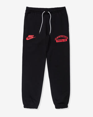 NIKE X STRANGER THINGS CLUB PANT - BLACK/WHITE/UNIVERSITYRED