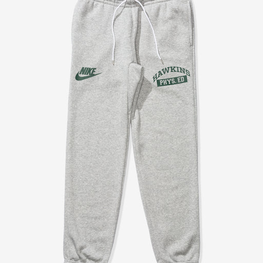 NIKE X STRANGER THINGS CLUB PANT - DKGREYHEATHER/WHITE/FIR Image 1