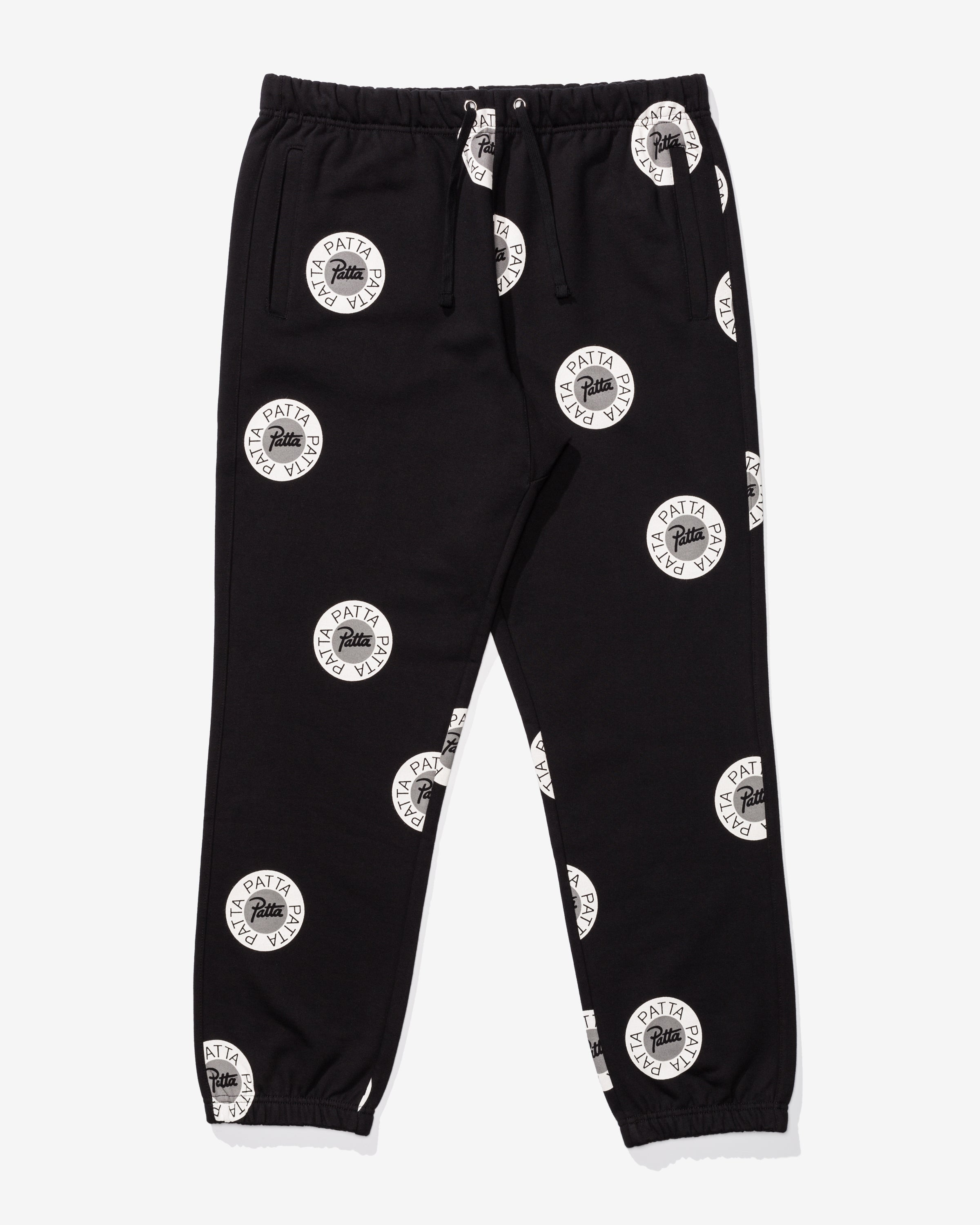 PATTA EMBLEM JOGGING PANTS - BLACK