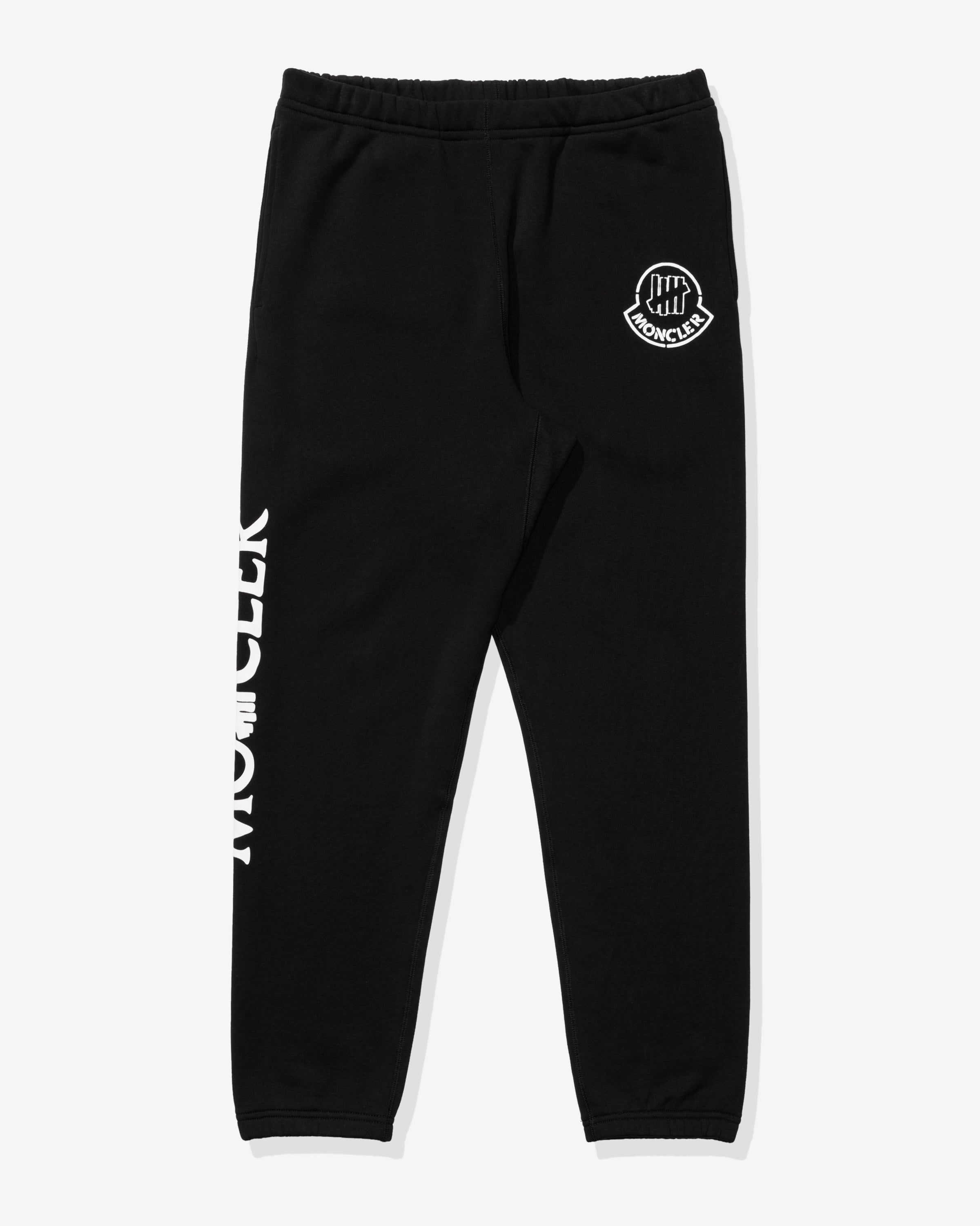 UNDEFEATED X MONCLER SWEAT BOTTOMS - BLACK