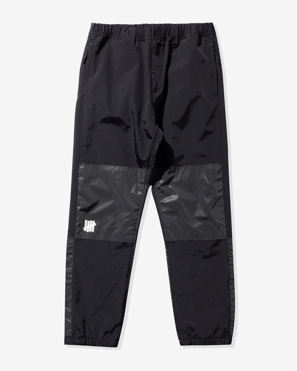 UNDEFEATED REFLECTIVE PANEL TRACK PANT - BLACK