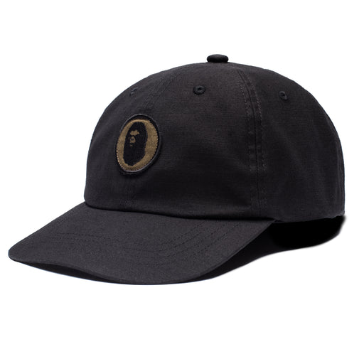 BAPE MILITARY PANEL CAP - BLACK Image 1