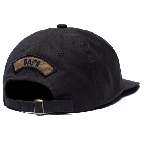 BAPE MILITARY PANEL CAP - BLACK Image 2