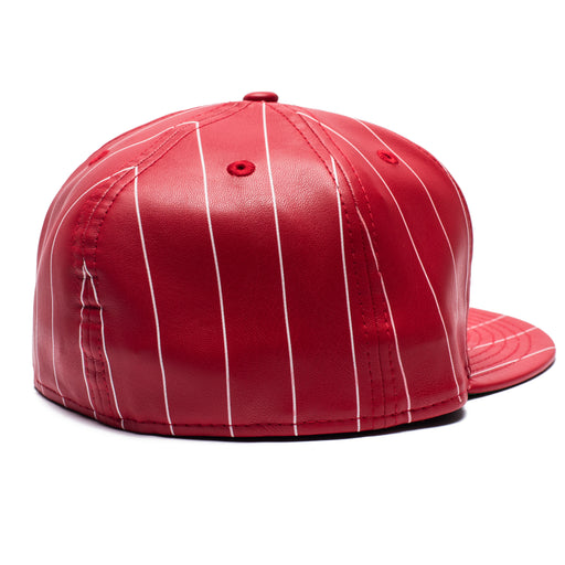 UNDEFEATED X NEW ERA LEATHER FITTED Image 5