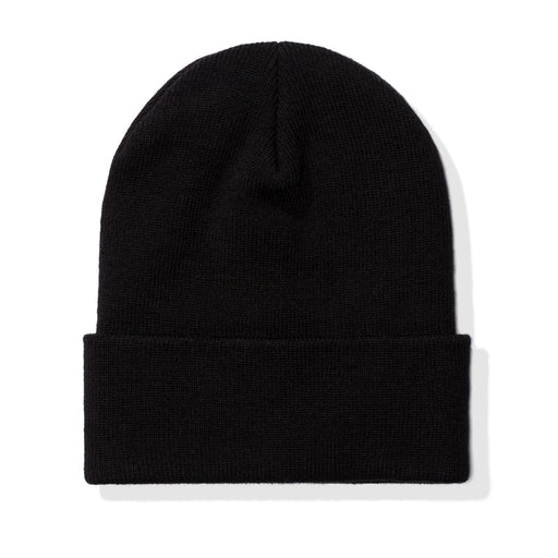 UNDEFEATED LABEL BEANIE - BLACK Image 2