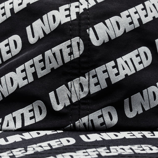 UNDEFEATED REFLECTIVE REPEAT STRAPBACK - BLACK Image 3