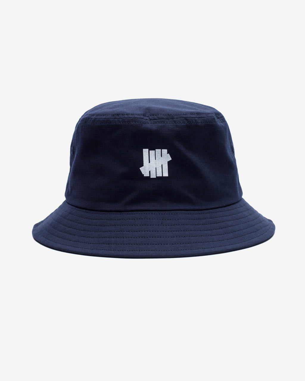 UNDEFEATED RIPSTOP 5 STRIKE BUCKET HAT - NAVY