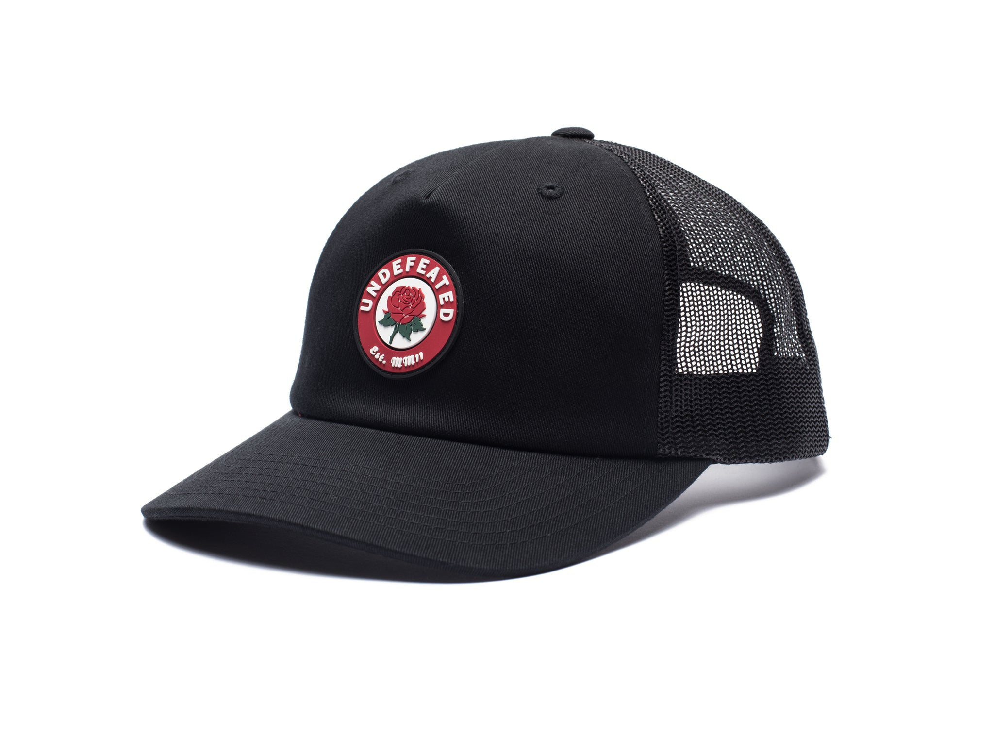 UNDEFEATED ROSE TRUCKER - BLACK