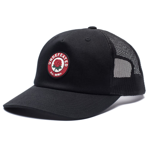 UNDEFEATED ROSE TRUCKER - BLACK Image 1