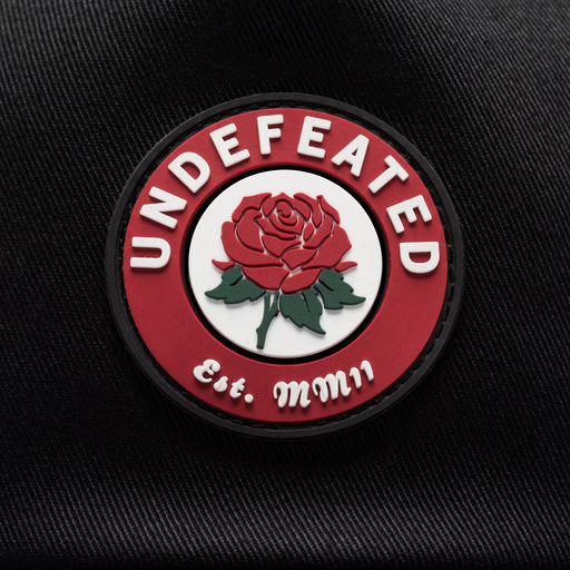 UNDEFEATED ROSE TRUCKER - BLACK Image 3