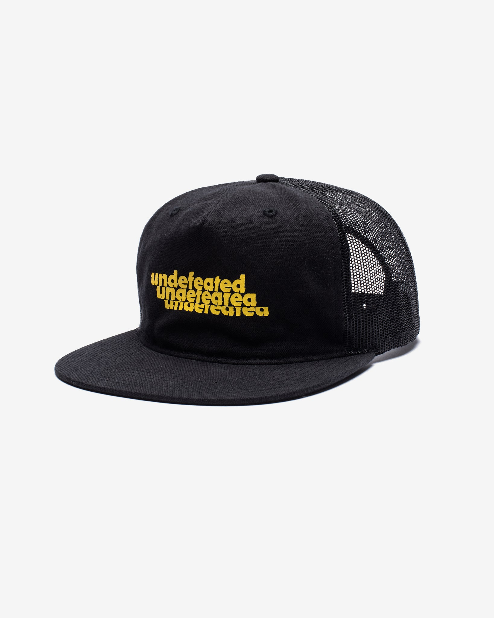 UNDEFEATED STACKING TRUCKER - BLACK