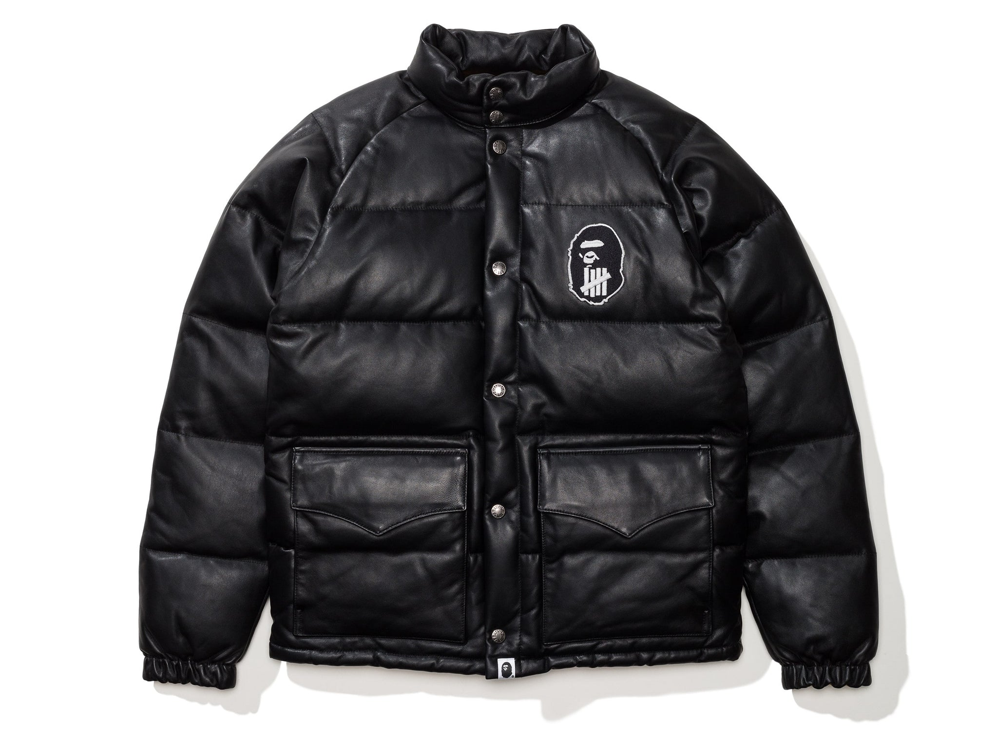 BAPE X UNDFTD CLASSIC DOWN JACKET - BLACK