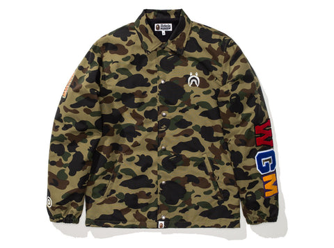 BAPE 1ST CAMO SHARK COACH JACKET