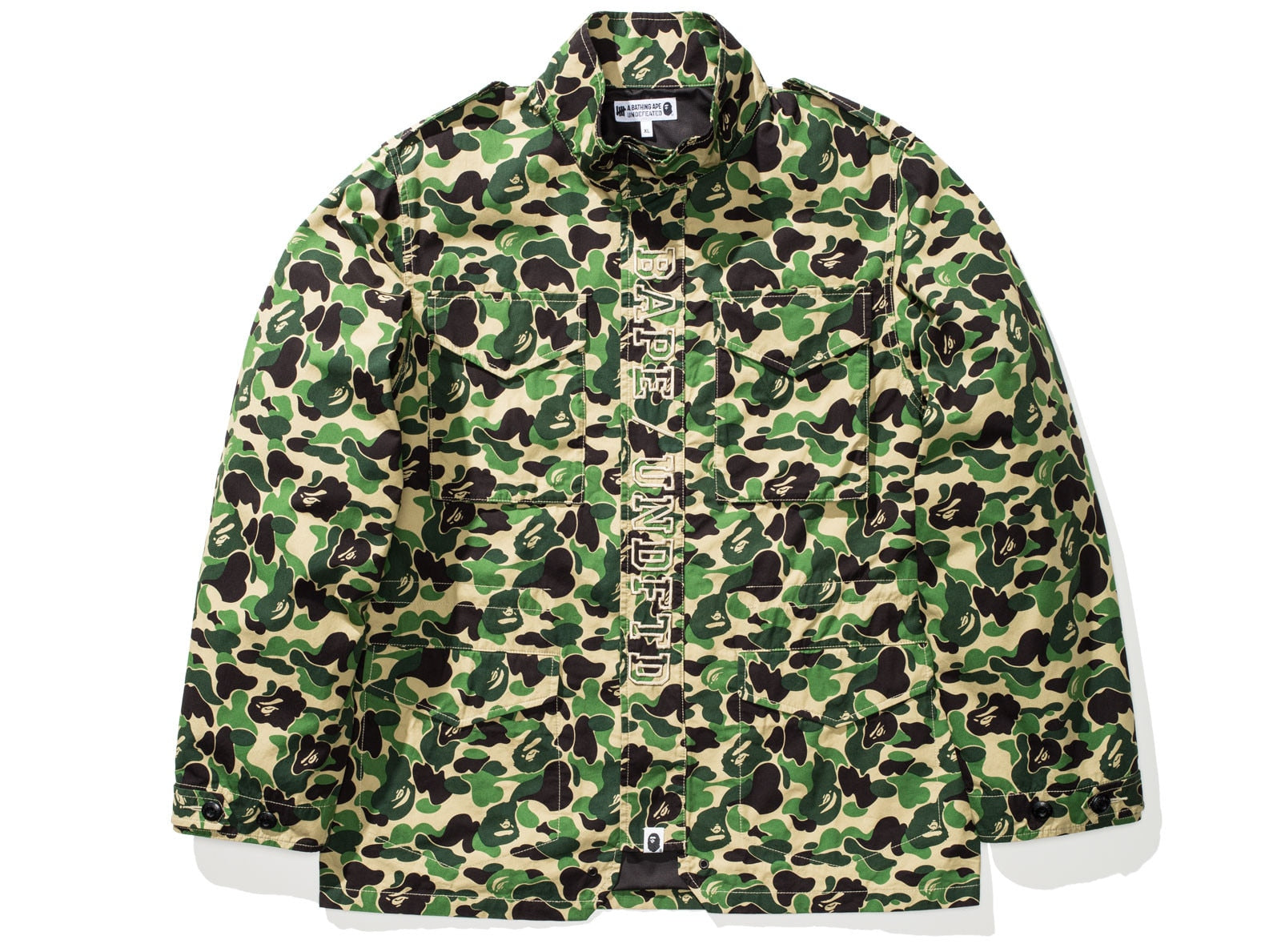 BAPE X UNDEFEATED ABC M-65 - GREEN