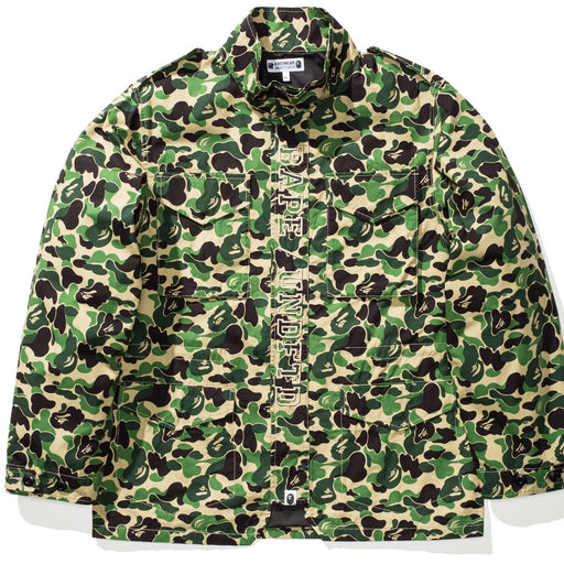 BAPE X UNDEFEATED ABC M-65 - GREEN Image 1