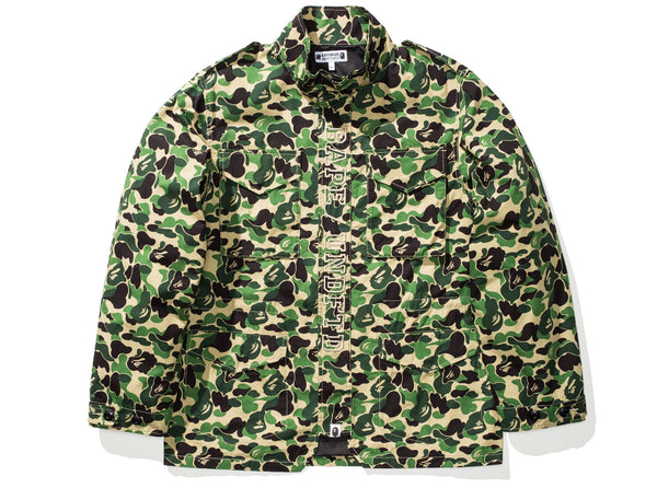 60145646 BAPE X UNDEFEATED ABC M-65 - GREEN