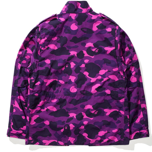 BAPE X UNDEFEATED COLOR CAMO M-65 - PURPLE Image 2