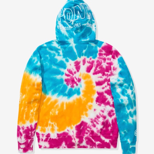 BAPE TIE DYE SHARK WIDE FULL ZIP HOODIE - MULTI Image 3