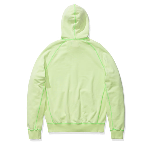 WINGS WASHED FLC FZ HOODIE - GHOSTGREEN Image 2