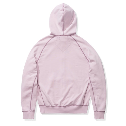 WINGS WASHED FLC FZ HOODIE - ICEDLILAC Image 2