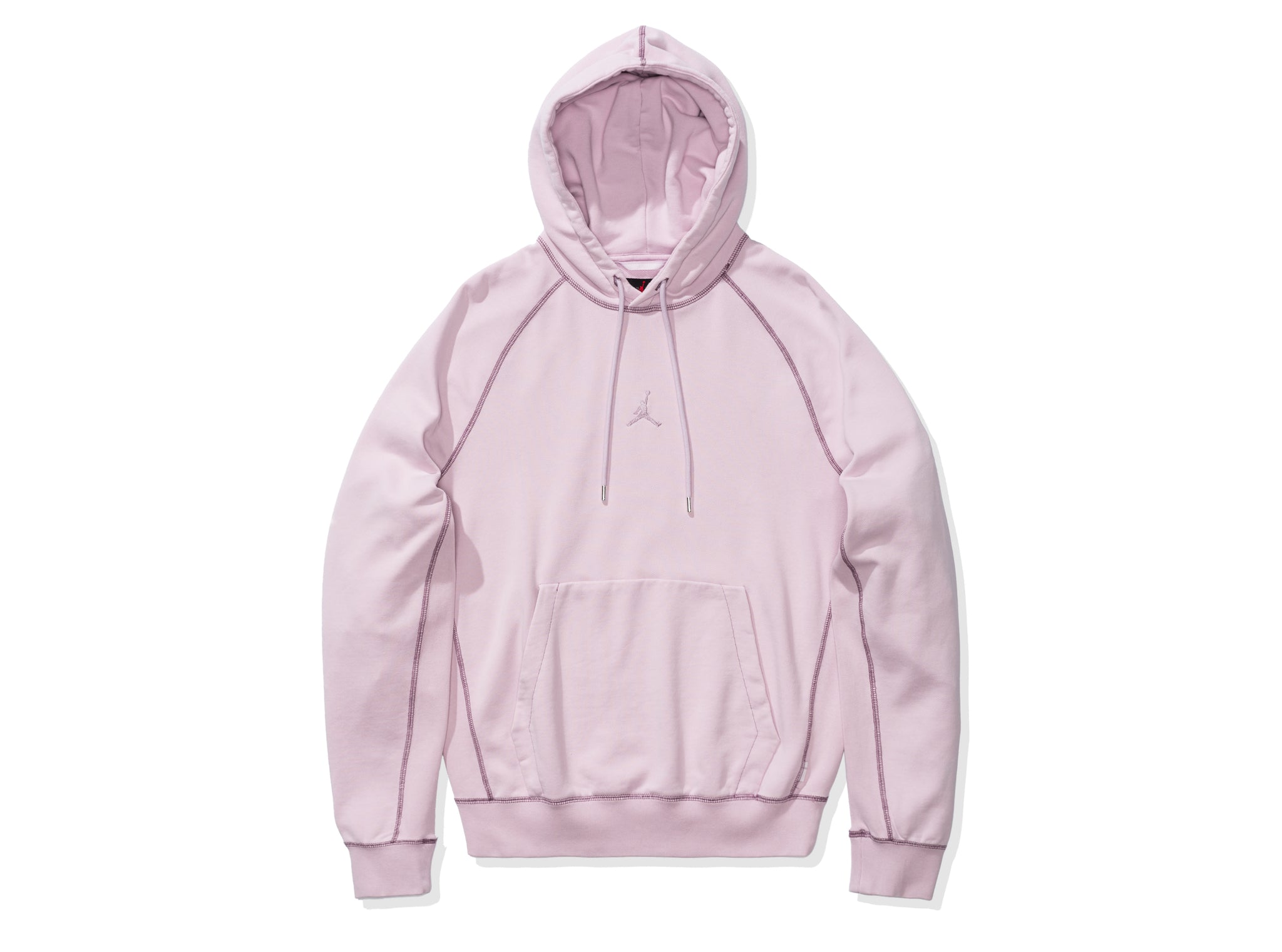 WINGS WASHED FLC PULLOVER HOODIE - ICEDLILAC