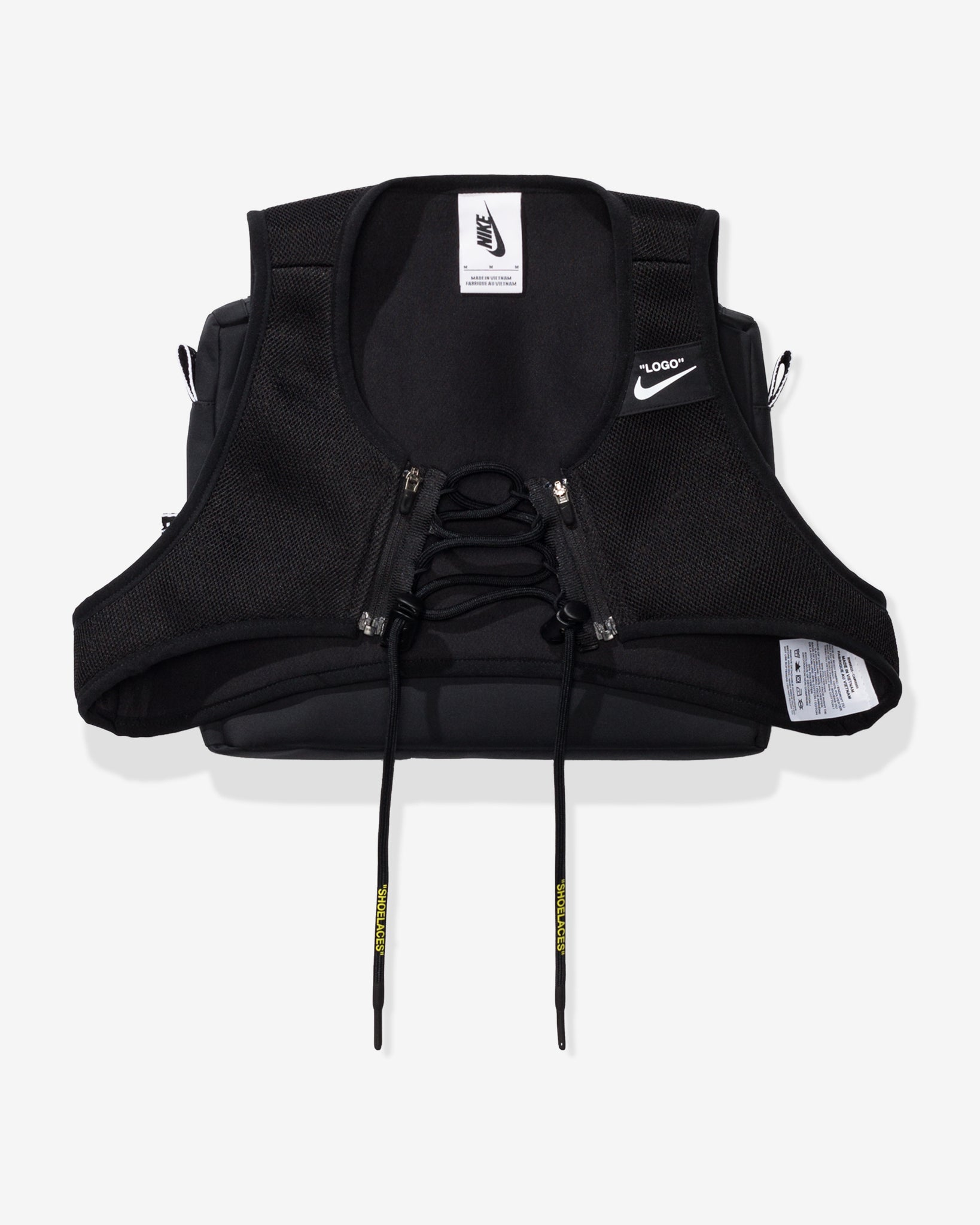 NIKE X OFF-WHITE WOMEN'S NRG XCROSS BIB #1 - BLACK
