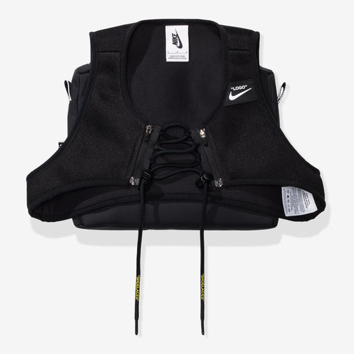 NIKE X OFF-WHITE WOMEN'S NRG XCROSS BIB #1 - BLACK Image 1