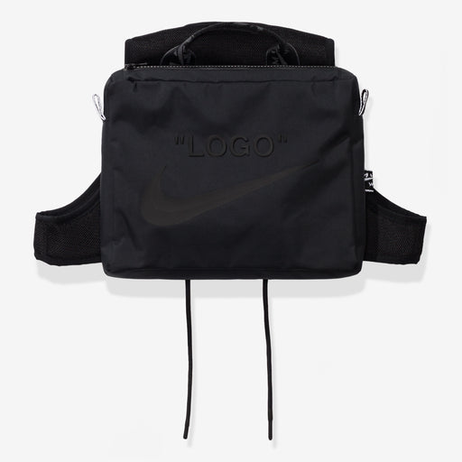 NIKE X OFF-WHITE WOMEN'S NRG XCROSS BIB #1 - BLACK Image 2