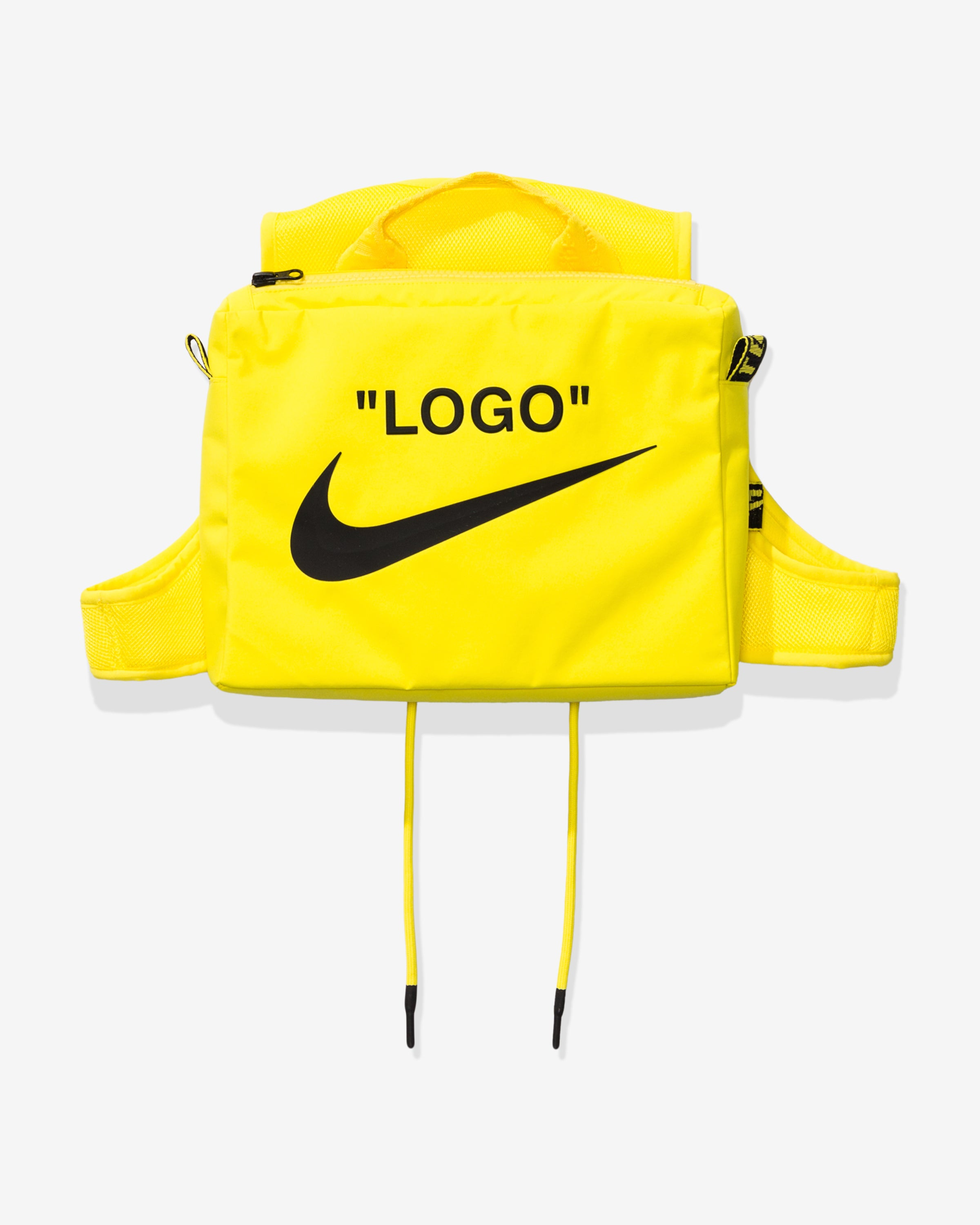 NIKE X OFF-WHITE WOMEN'S NRG XCROSS BIB #1 - OPTIYELLOW