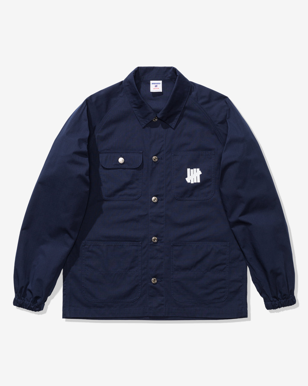 UNDEFEATED RIPSTOP CHORE JACKET - NAVY