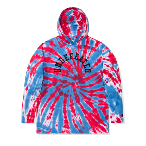 UNDEFEATED TIE DYED HOODED L/S TOP Image 1