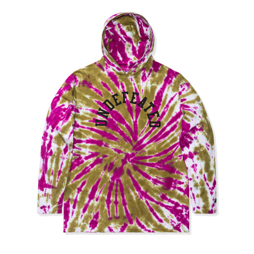 UNDEFEATED TIE DYED HOODED L/S TOP Image 5
