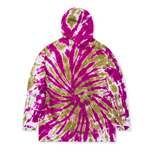 UNDEFEATED TIE DYED HOODED L/S TOP Image 6