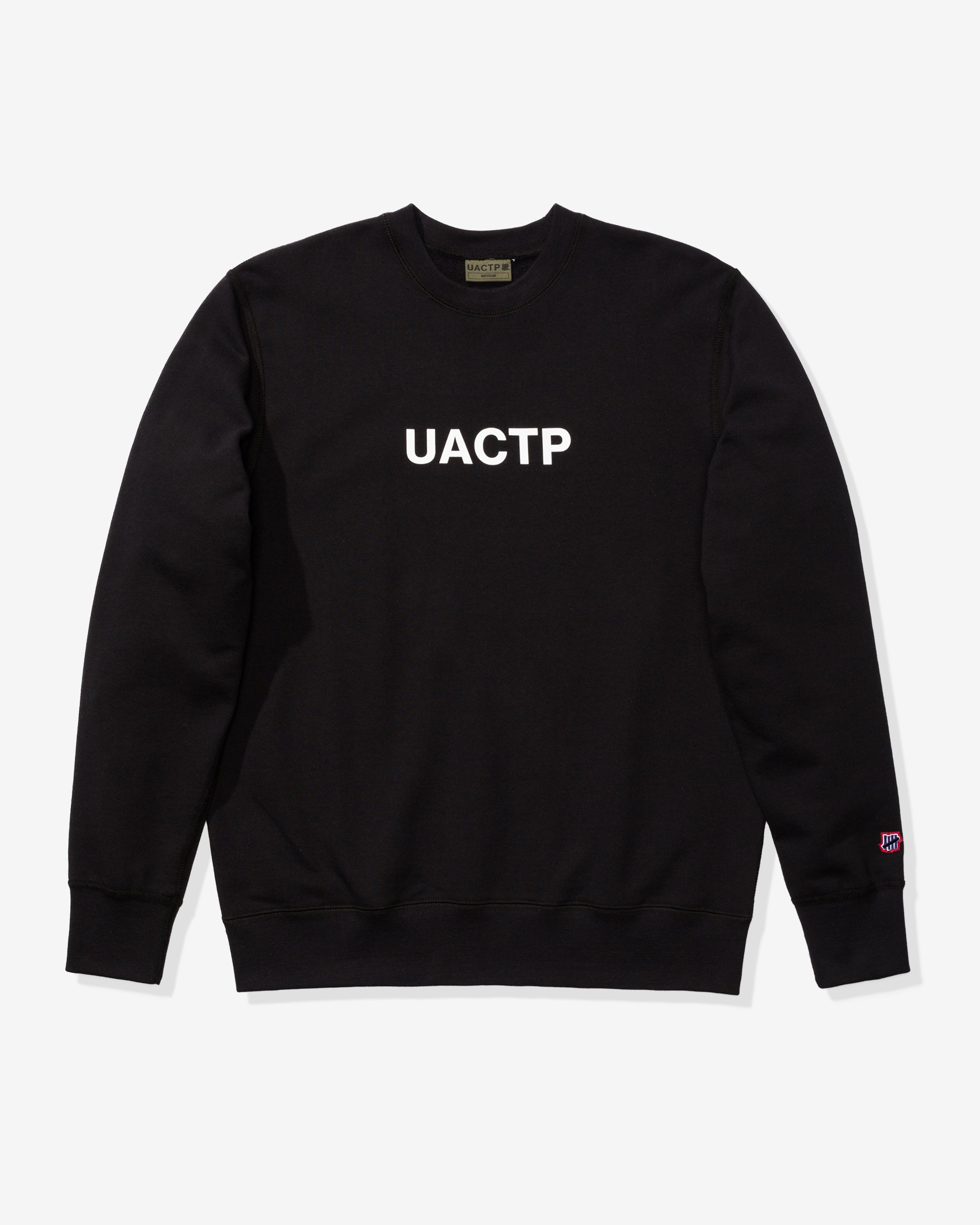 UACTP CORE CREWNECK - BLACK