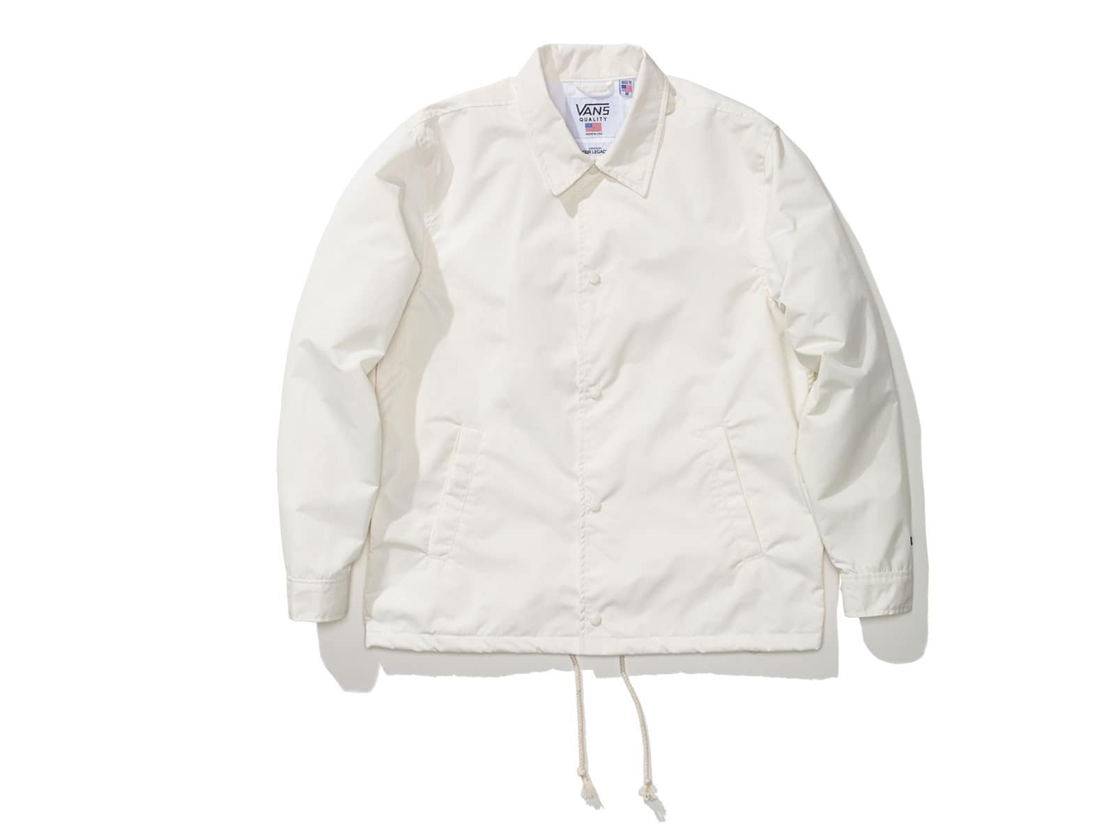 Vans X Our Legacy Coaches Jacket Marshmallow Undefeated