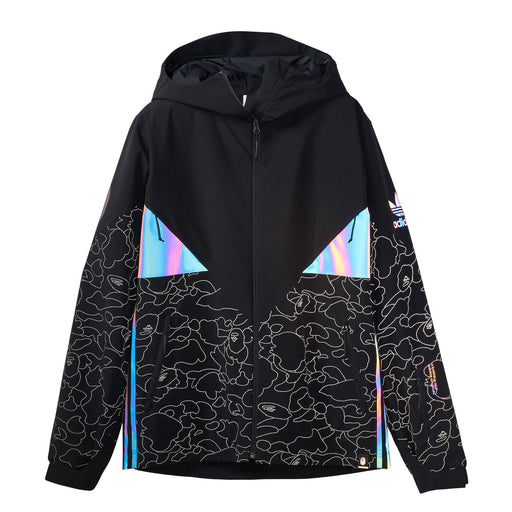 ADIDAS X BAPE SNOW JACKET - BLACK
