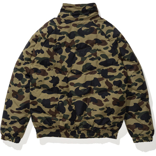 BAPE 1ST CAMO DOWN JACKET - GREEN Image 2