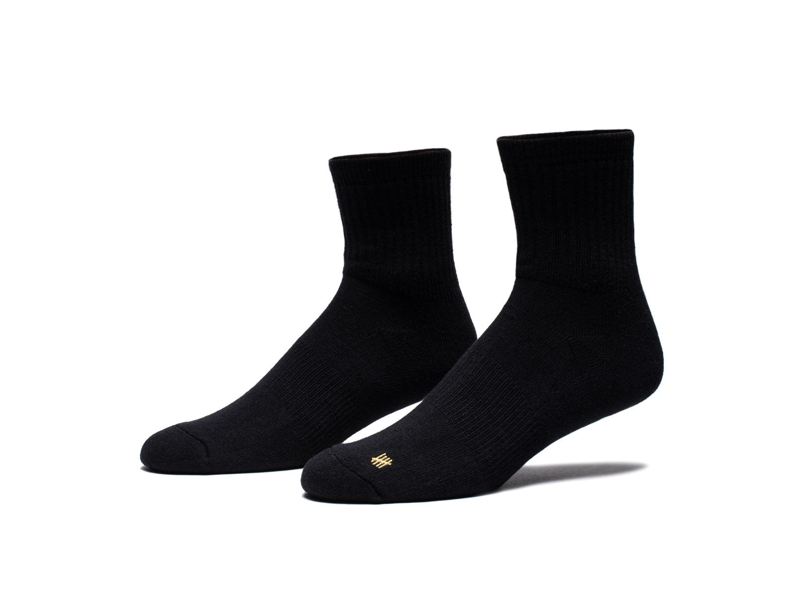 UNDEFEATED CREW SOCK - BLACK