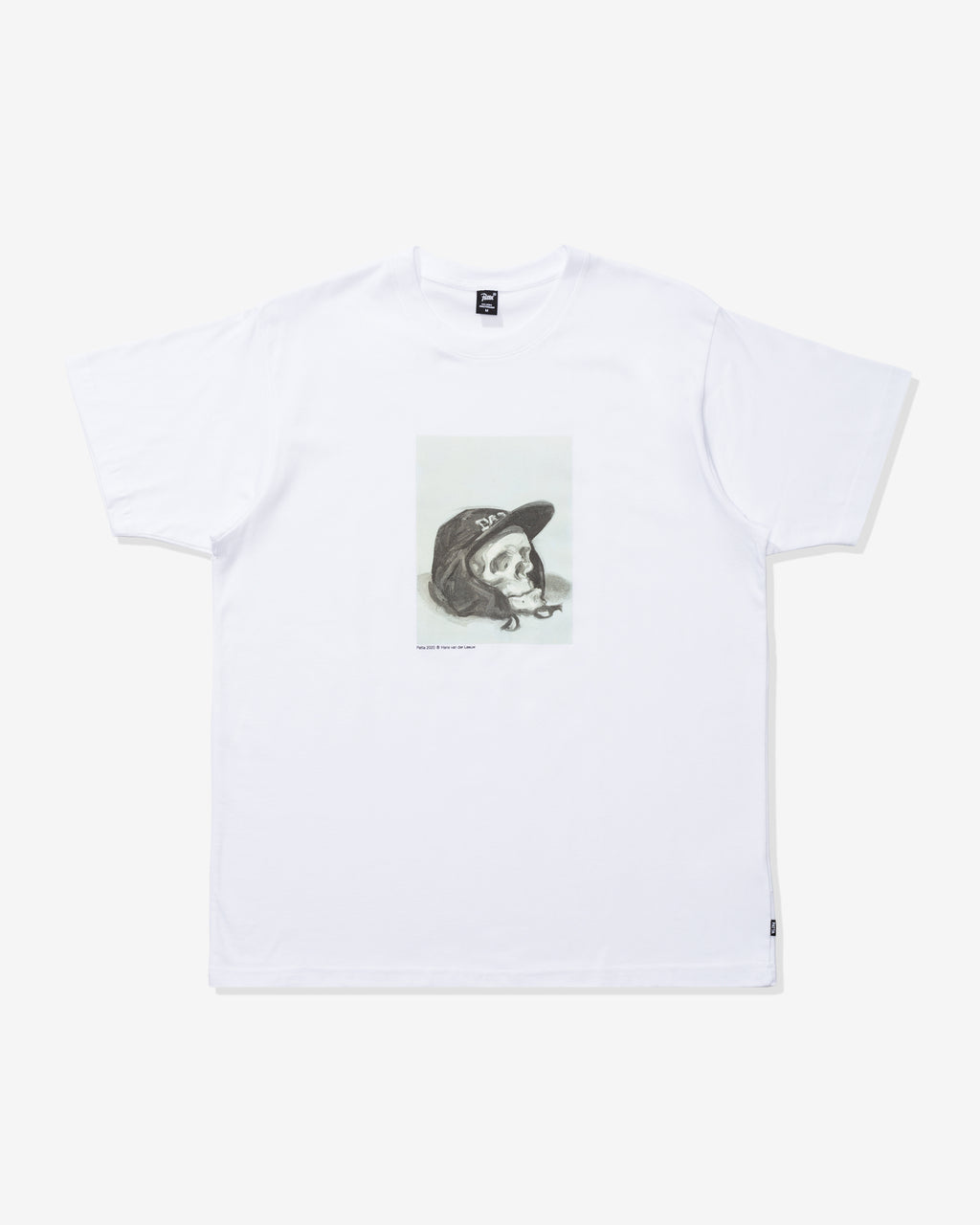 PATTA PAINTED SKULL T-SHIRT - WHITE