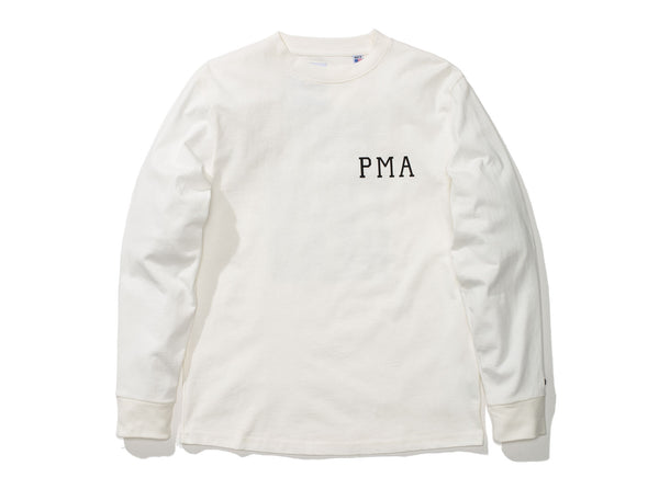 39743ed2b376 VANS X OUR LEGACY L/S TEE - MARSHMALLOW