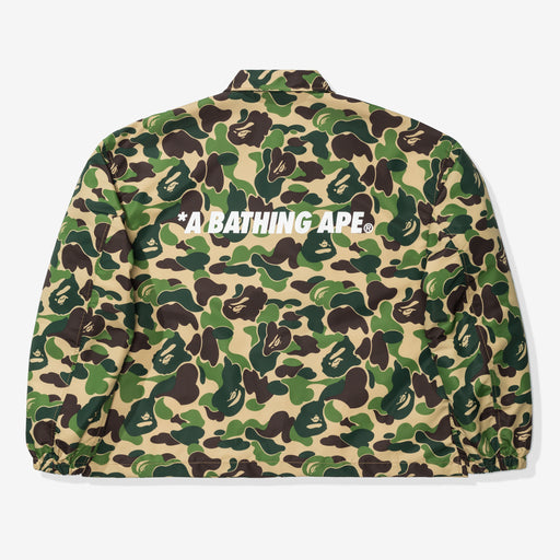 BAPE ABC CAMO RELAXED COACH JACKET - GREEN Image 2