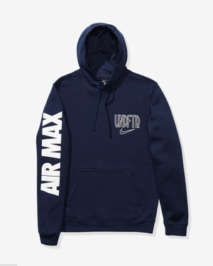 NIKE X UNDEFEATED AIR MAX 90 HOODIE - COLLEGENAVY