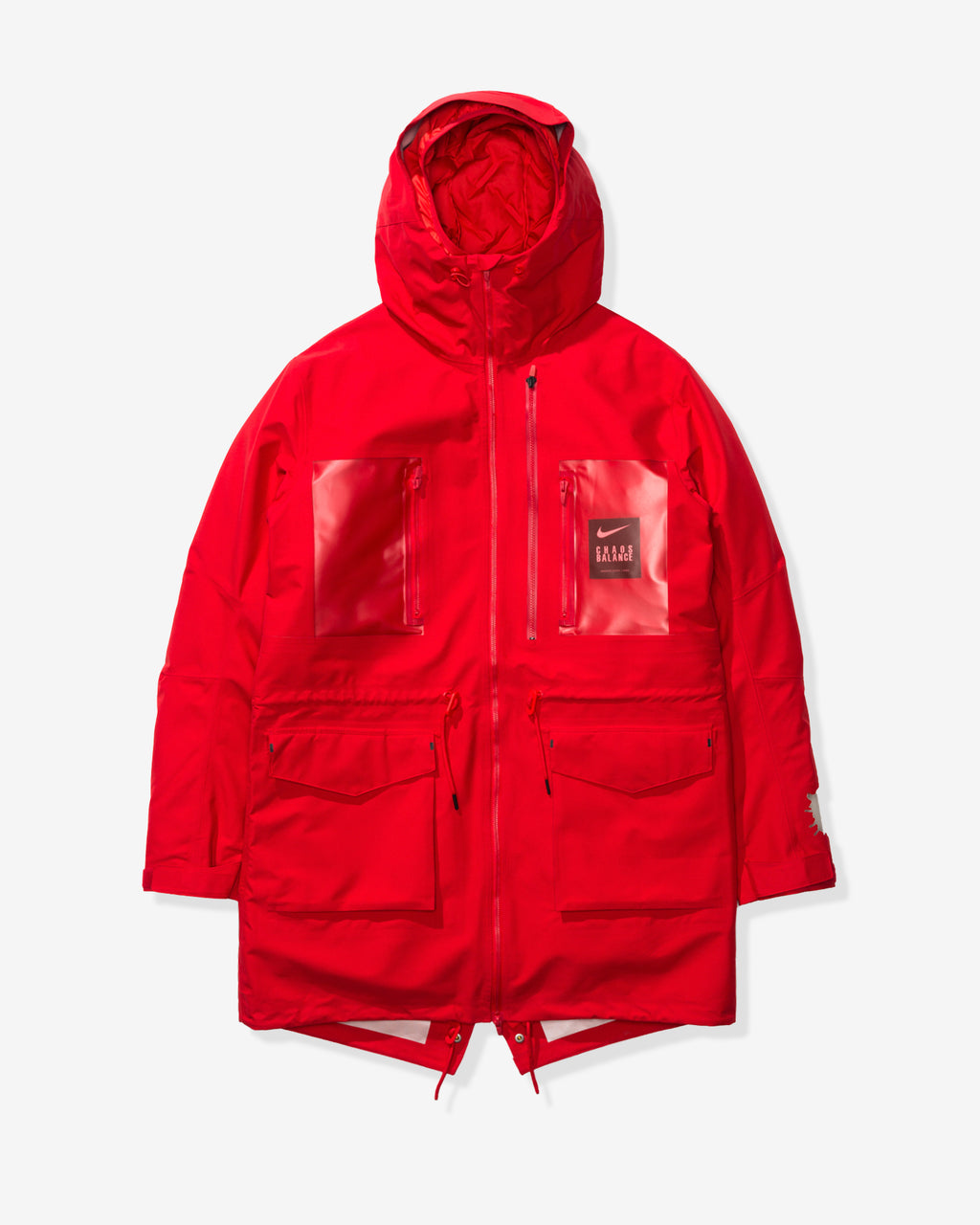 NIKE X UNDERCOVER NRG TC PARKA FISH TAIL 3L - SPORTRED/WHITE