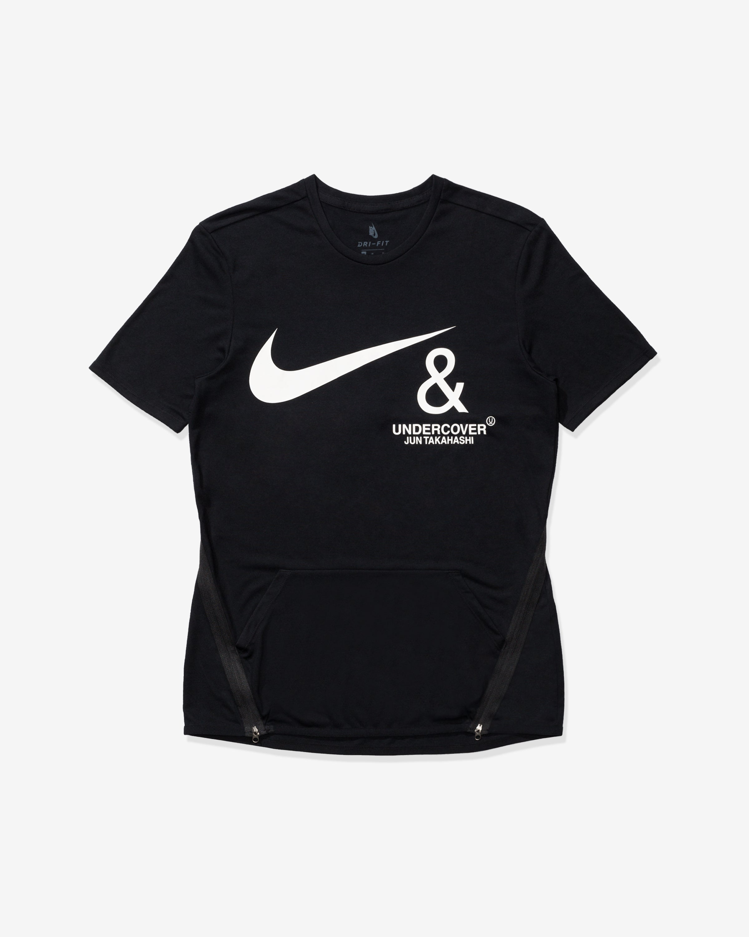 NIKE X UNDERCOVER NRG TC TOP SS POCKET - BLACK/WHITE