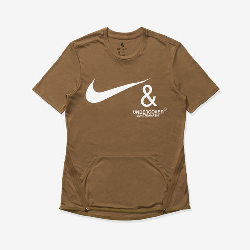 NIKE X UNDERCOVER NRG TC TOP SS POCKET - LICHENBROWN/WHITE Image 1