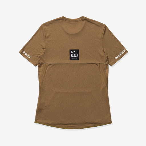 NIKE X UNDERCOVER NRG TC TOP SS POCKET - LICHENBROWN/WHITE Image 2