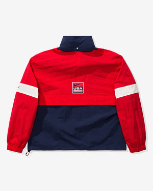 NRG JKT SWOOSH STRIPE - UNIVERSITYRED/MIDNIGHTNAVY