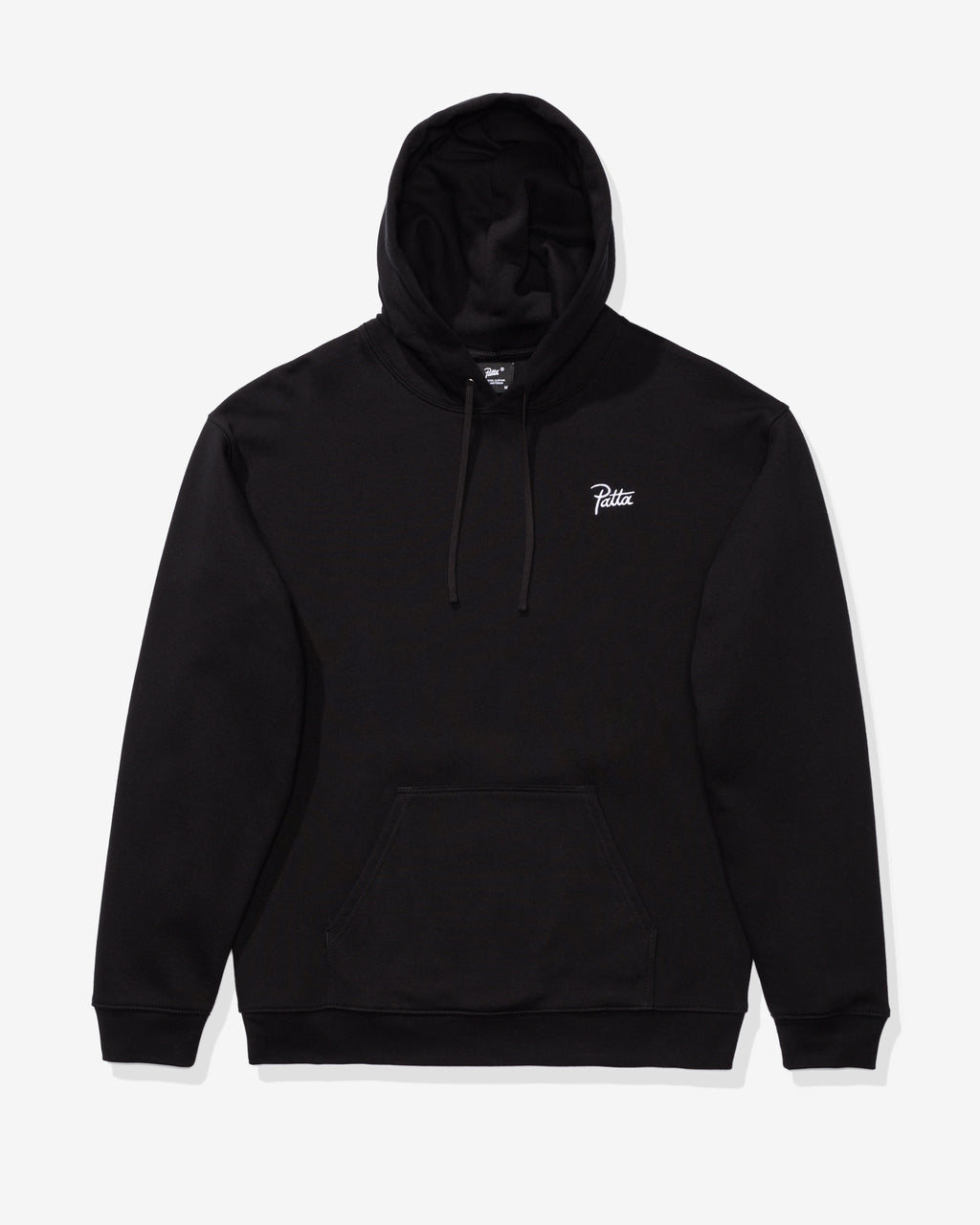 PATTA PAINTED SKULL ZIP HOODED SWEATER - BLACK