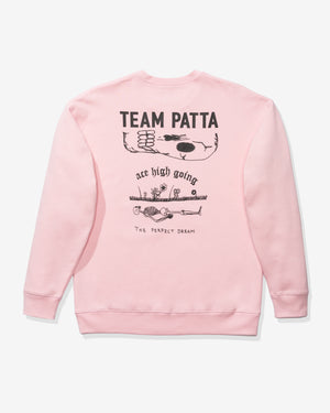 PATTA UNDERGROUND CREWNECK SWEATER - FAIRYTALE